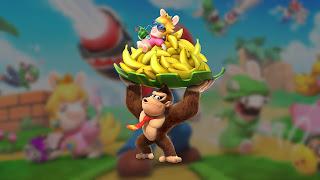 Mario + Rabbids Donkey Kong Background