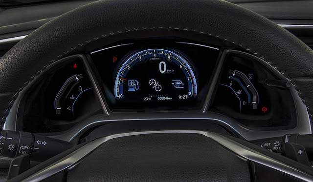Novo Honda Civic Touring 2017 - interior