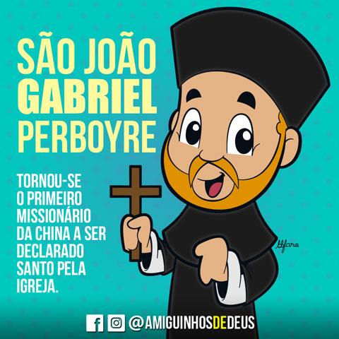 São João Gabriel Perboyre desenho