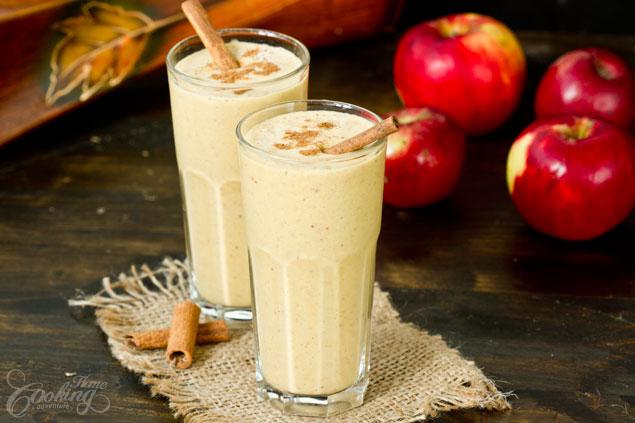 2. Smoothie buah apel