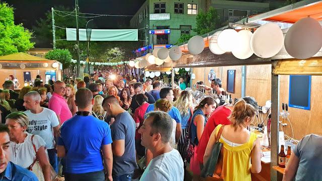 Χιλιάδες επισκέπτες στο 1ο Φεστιβάλ Μπίρας και Φολκλόρ στον Ίλιον