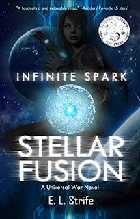 Stellar Fusion, an alien invasion sci-fi fantasy by Elysia Strife