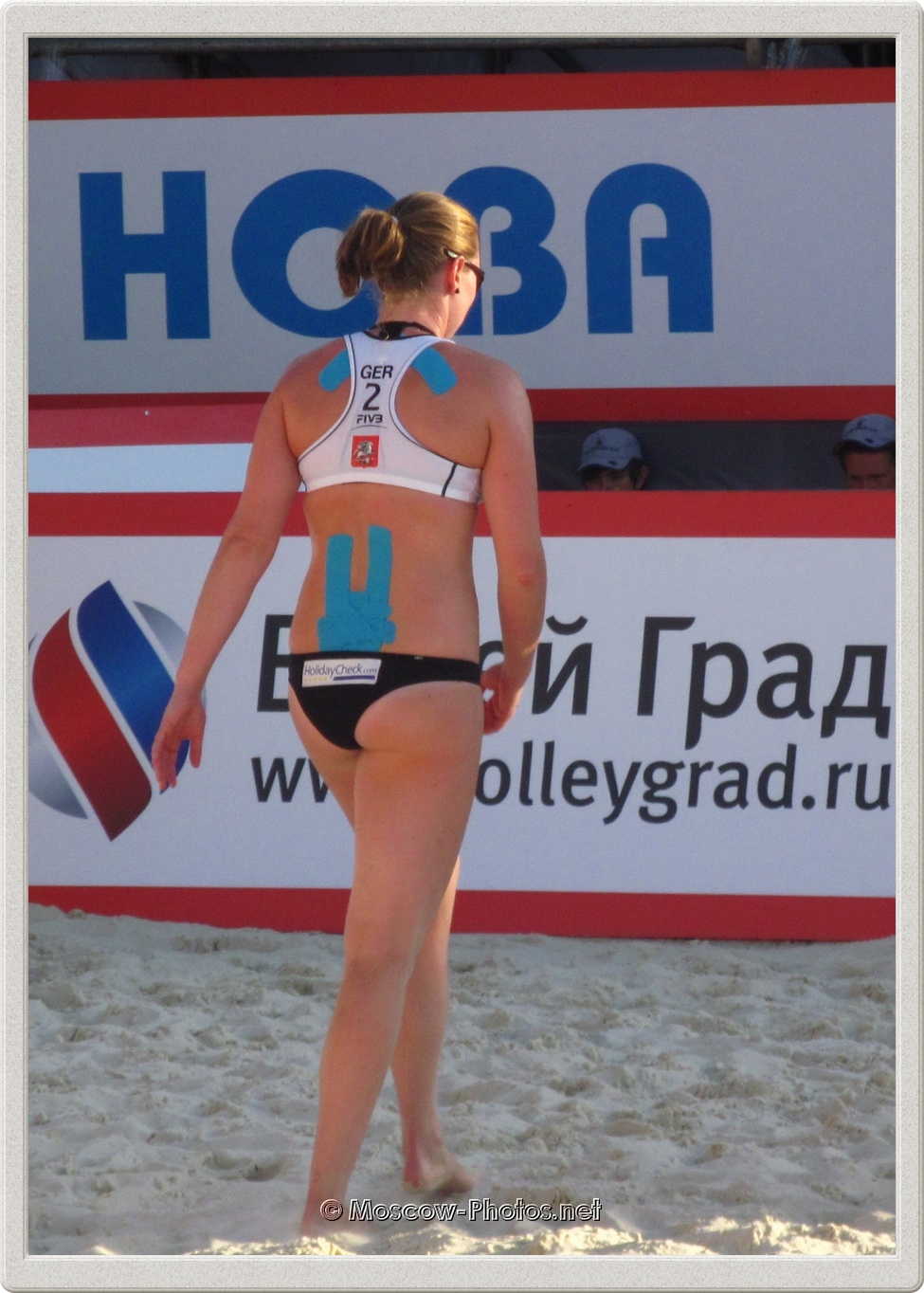 Beach Volleyball Player Julia Sude