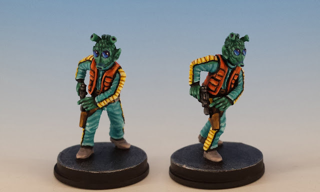Greedo, Imperial Assault (2016), painted miniature