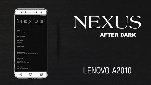 Nexus AfterDark Deodex Custom Rom For Lenovo A2010