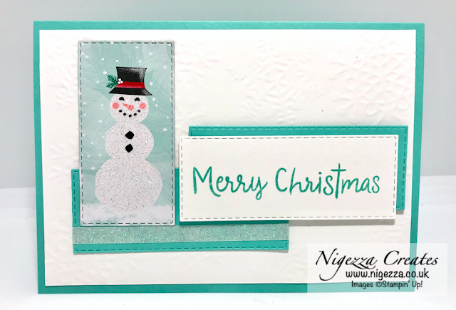 Nigezza Creates with Stampin' Up! Let It Snow DSP stretch your stash One Sheet Wonder