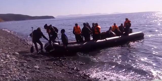 Λαθρομετανάστες φτάνουν ανενόχλητοι σαν τουρίστες στη Σαμοθράκη