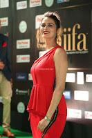 Meenakshi Dixit in Red One Shoulder Red Zipped up gown at IIFA Utsavam Award 63.JPG
