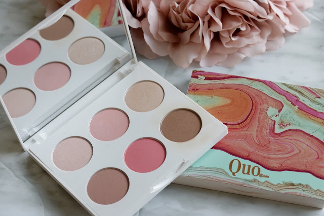 quo spring 2017 down to earth heat it up face palette