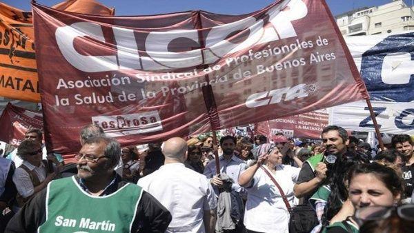 Médicos argentinos convocan una nueva jornada de paro