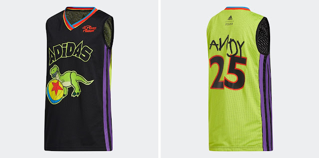 Adidas Toy Story You've Got a Friend in Me Basketball Jersey