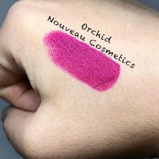 verdebio Swatches Nouveau Cosmetics Rossetti