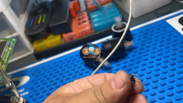 Xhorse Mini Prog Read Toyota Sequoia 93C66 EEPROM 4