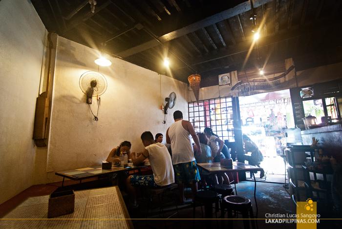 Smoke Restaurant Boracay Dining Area