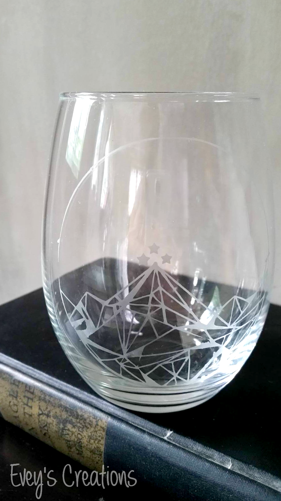 Evey S Creations Etched Wine Glass Tutorial How To Impor