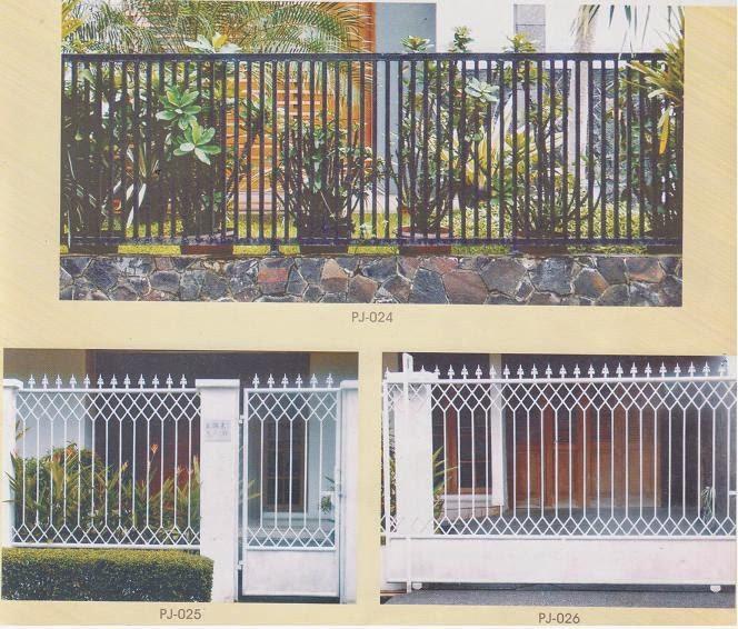 pagar rumah minimalis dan Modern
