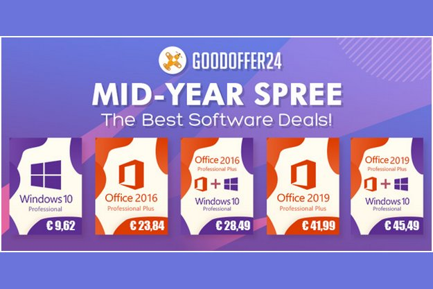 Καλοκαιρινές προσφορές στο GoodOffer24: Αγοράστε Windows 10 με λιγότερο από 10 ευρώ!