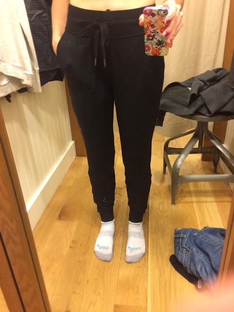 athleta techie sweat ankle pant review