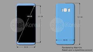 Harga HP Samsung Galaxy S8 @cjnet korea