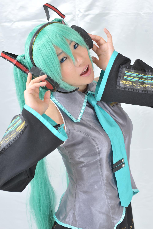hatsune miku cosplay - photo #45