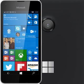 Microsoft Lumia 550 phone specifications