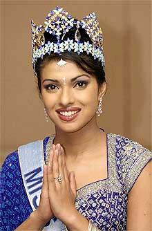priyanka chopra miss world age
