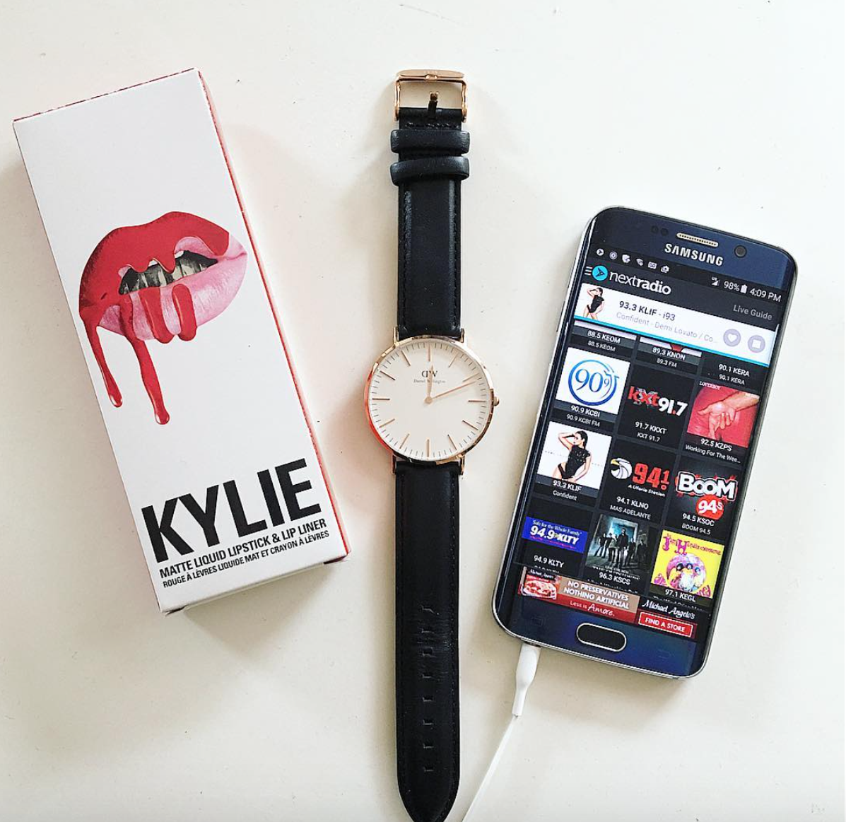 New Obsessions Ever Since I Got All The Kylie Lip Kits They Are Wear My Watch Such A Classic NEXT Radio App Music Is Very Central