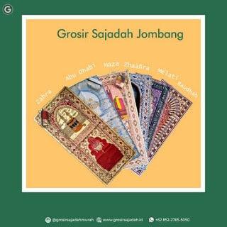 Grosir Sajadah Jombang | +62 852-2765-5050