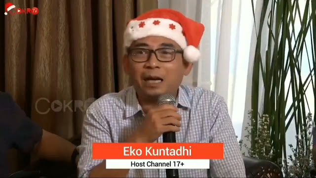 Relawan Jokowi, Eko Kuntadhi Sebut Jamaah Tabligh Penyebar Virus Corona