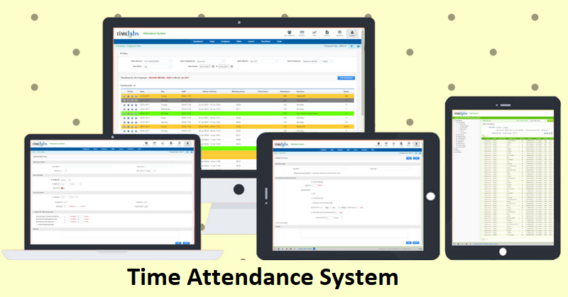 Employee Self Service Portal | Biometric Time and Attendance Software