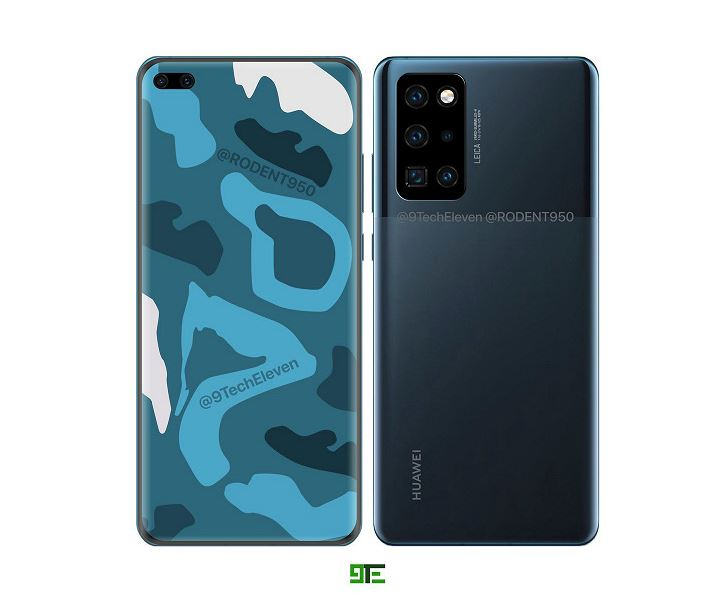 Huawei P40 and Huawei P40 Pro in the first high-quality images