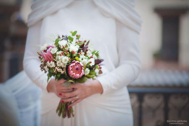ramo de novia tipo bouquet