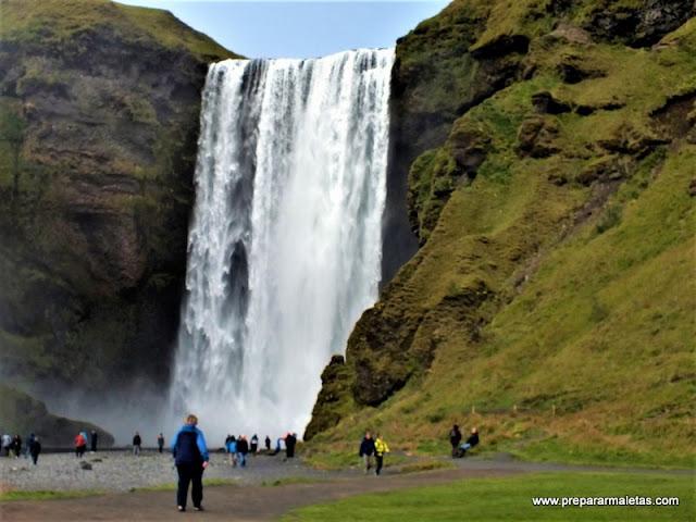 visitar Skógafoss cascada de Islandia