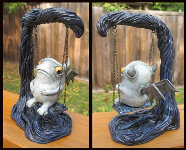 15-On-the-Swing-Deanna-Molinaro-aka-Chickenshoot-Odd-Clay-Sculptures-www-designstack-co
