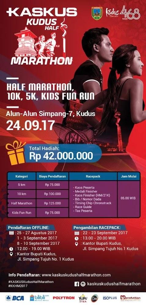 Kaskus Kudus Half Marathon • 2017