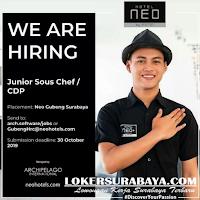 We Are Hiring at Neo Hotel Surabaya October 2019
