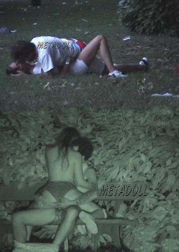 Security cam sex scenes from a dark alley (Galician Night Sex 111-112)