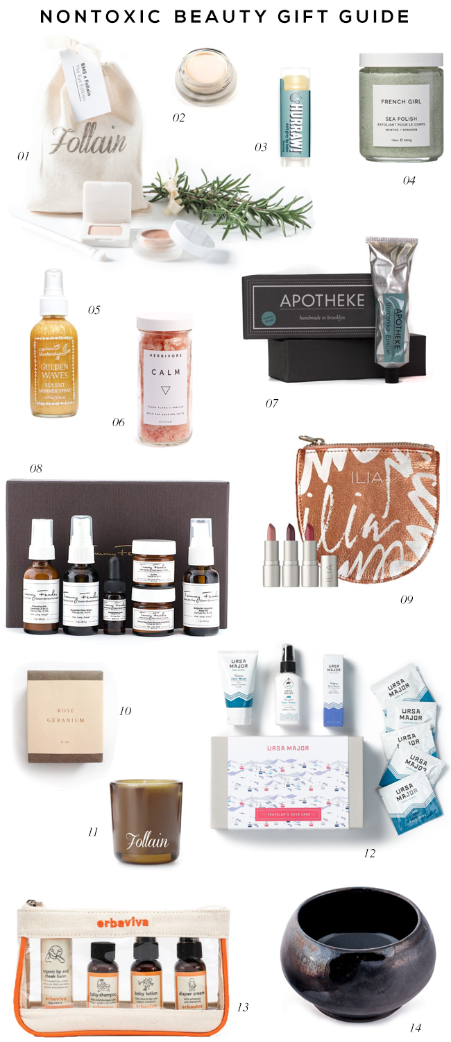 Nontoxic Beauty Gift Ideas