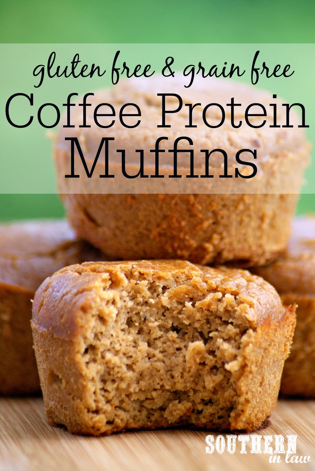 Healthy Grain Free Coffee Protein Muffin Recipe