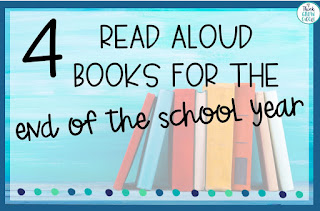 end of year picture books for upper elementary