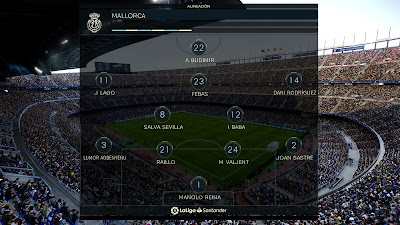 PES 2020 La Liga & UEFA Champions League Font by KTGR