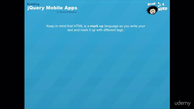 jQuery Mobile Basics: How to Build Mobile Web Apps Easily