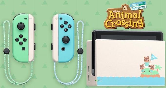 Sorteio de um Nintendo Switch Edição New Horizons e muito mais