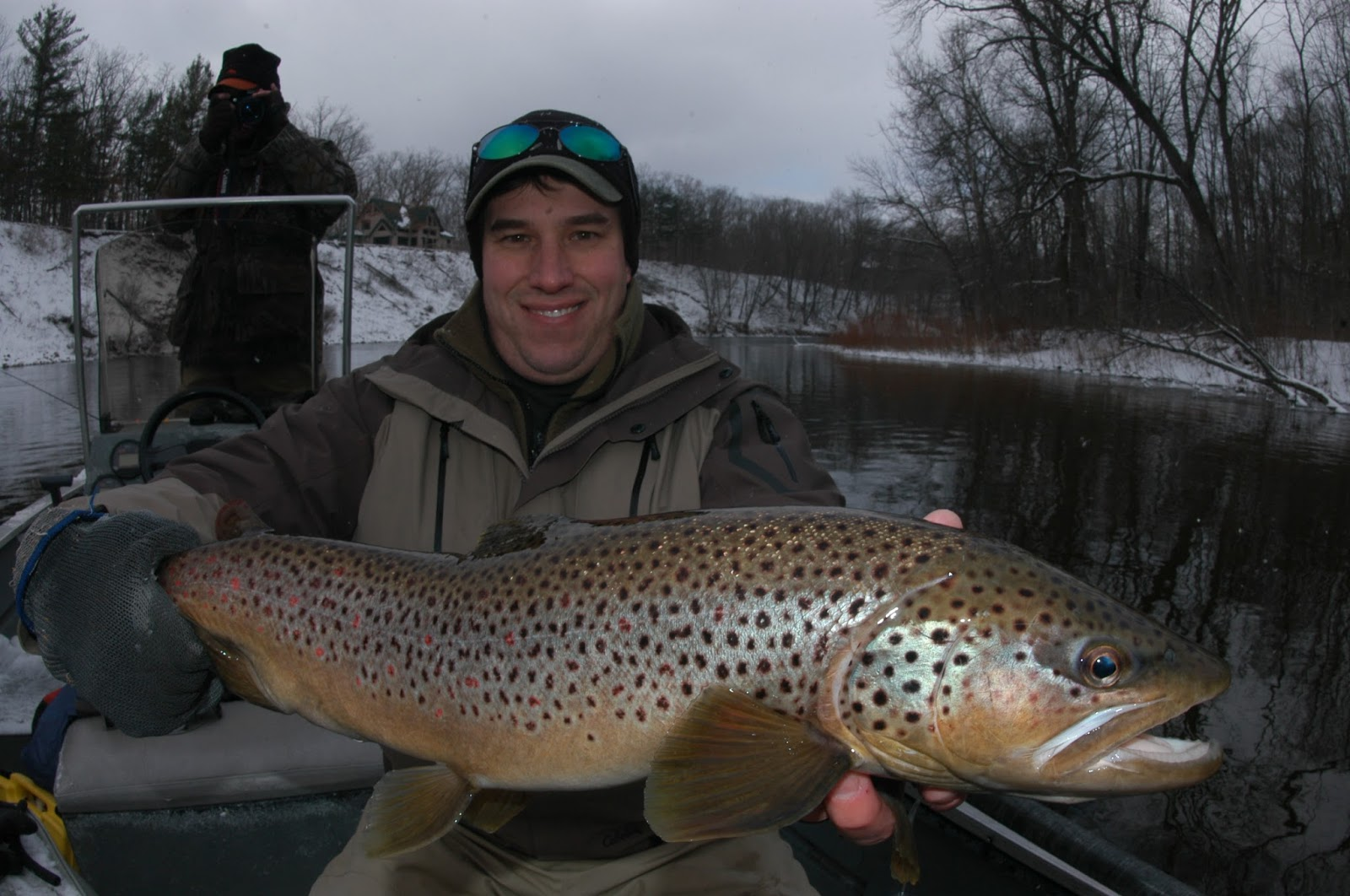 Winter steelhead and trout special fish prime time of day for Winter trout fishing