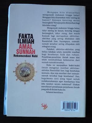 Sinopsis Buku Fakta Ilmiah Sunnah Rekomendasi Nabi