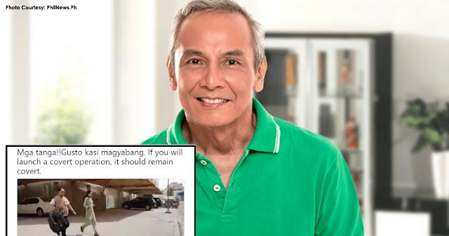 """""""Mga T*nga Gusto kasi magyabang!"""" pahayag ni Jim Paredes sa mga nagligtas sa ilang OFW sa Kuwait."""