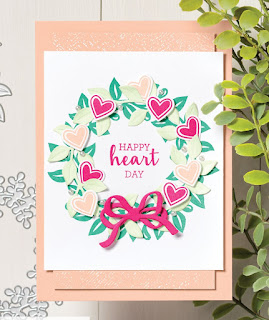 Stampin' Up! Arrange a Wreath Card  ~ 2020-2021 Annual Catalog ~#stampinup