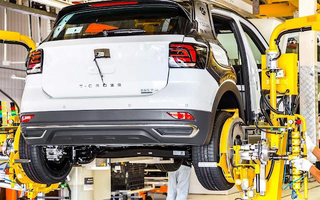 Volkswagen T-Cross - linha de produção em São José dos Pinhais (PR)