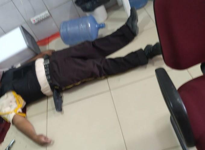 Dois vigilantes mortos em tentativa de assalto a banco do Bradesco de Vitória do Mearim