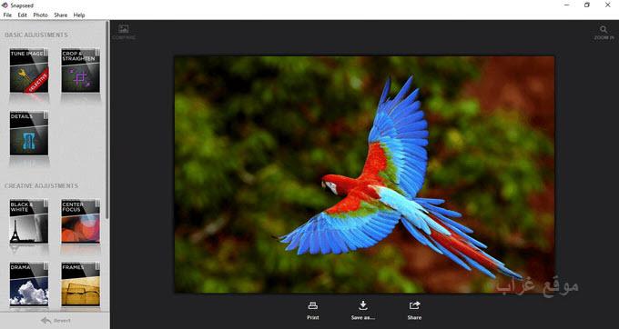 Snapseed Windows PC